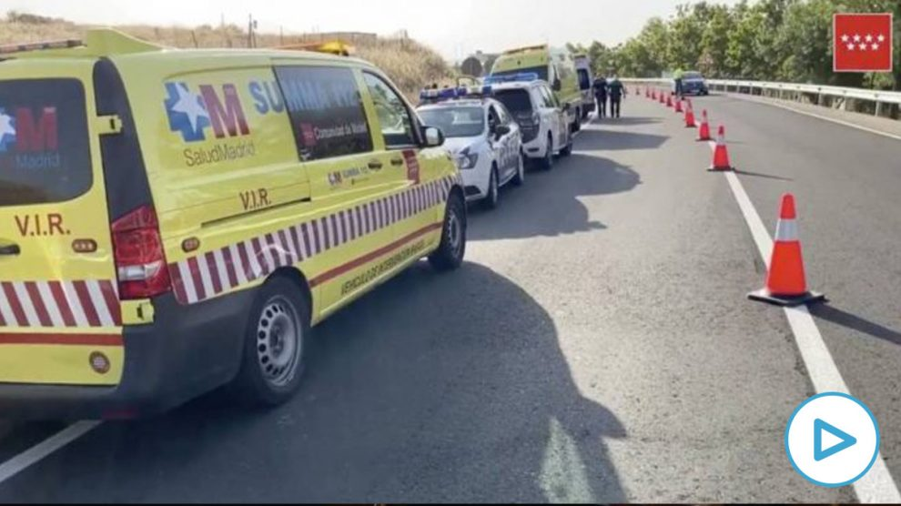Dos muertos en El Álamo en Madrid