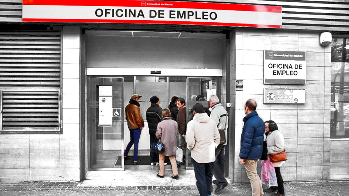 Oficina de empleo de la Comunidad de Madrid.