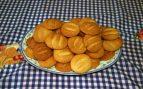 Receta de Galletas de naranja, arándanos y almendra