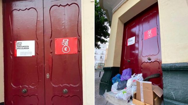 Kichi ficha de asesor a un hombre que anima a tirar basura en sedes del PSOE por ser un «partido sucio»