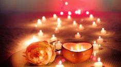 Las velas proporcionan mucho encanto a cualquier estancia