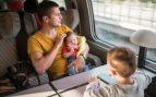 viajar en tren con niños