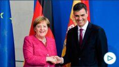 Ángela Merkel y Pedro Sánchez en la última Cumbre Europea.