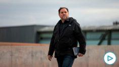 Oriol Junqueras abandona la cárcel de Lledoners. Foto: EP