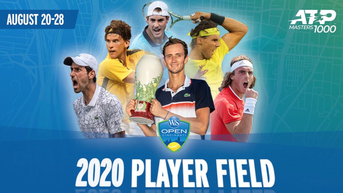 Cartel del Masters 1000 de Cincinnati. (CincyTennis)