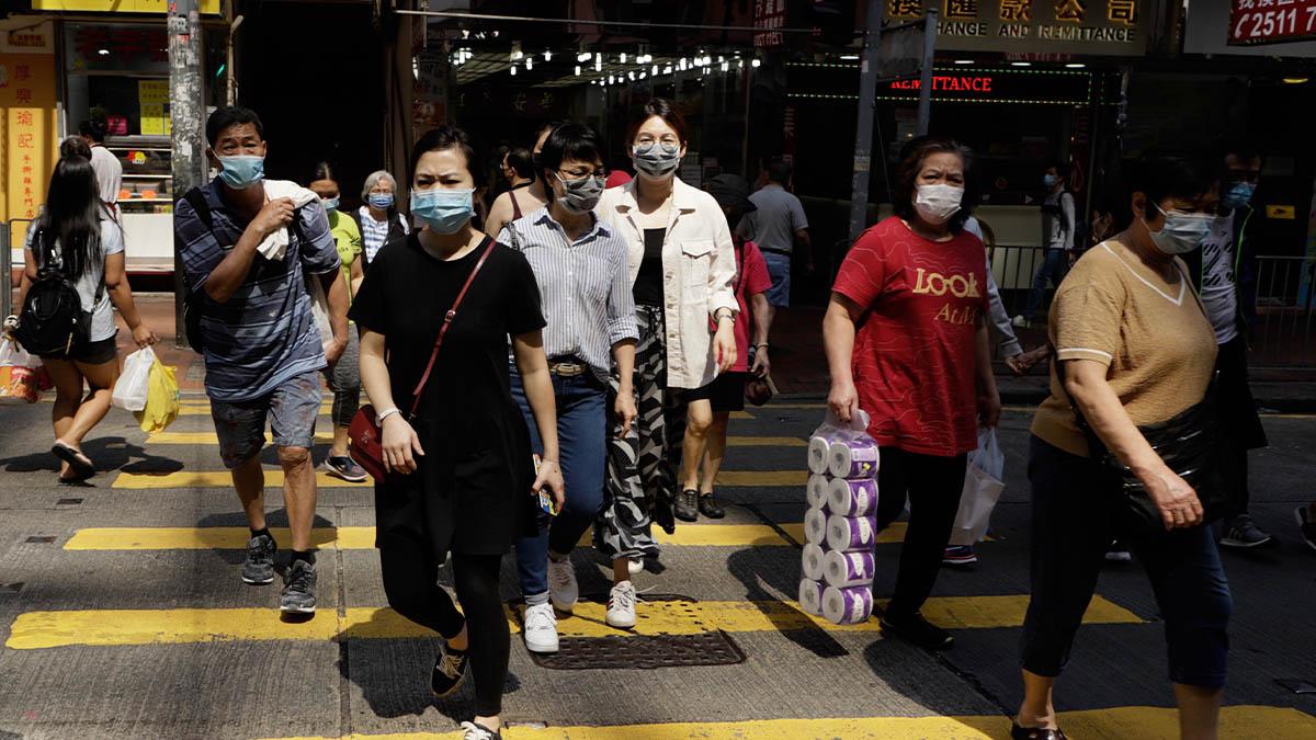 Los casos de coronavirus vuelven a repuntar en China.