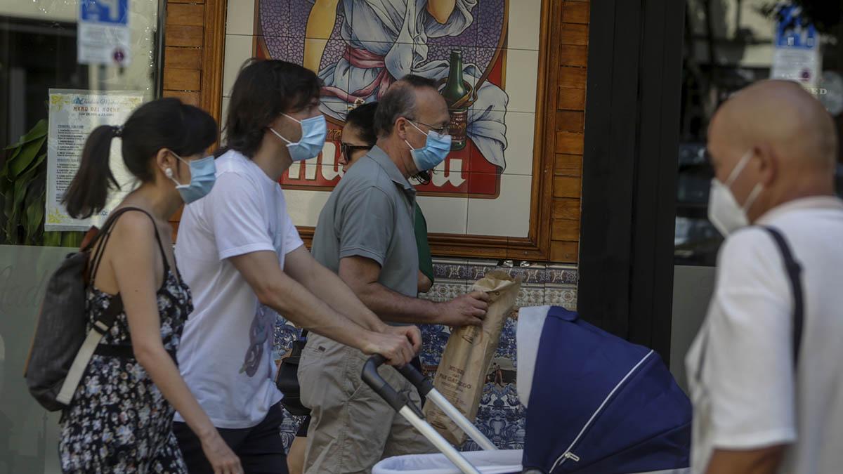 El uso de mascarilla será obligatorio en Madrid desde este jueves.