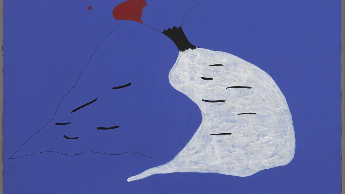 Fragmento del cuadro de Miró vendido en Sotheby's por 24 millones de euros.