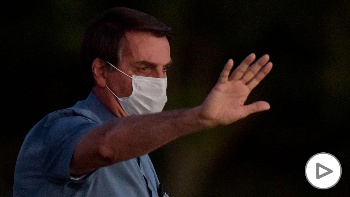 El presidente de Brasil, Jair Bolsonaro. (Foto: EFE/Andre Borges).