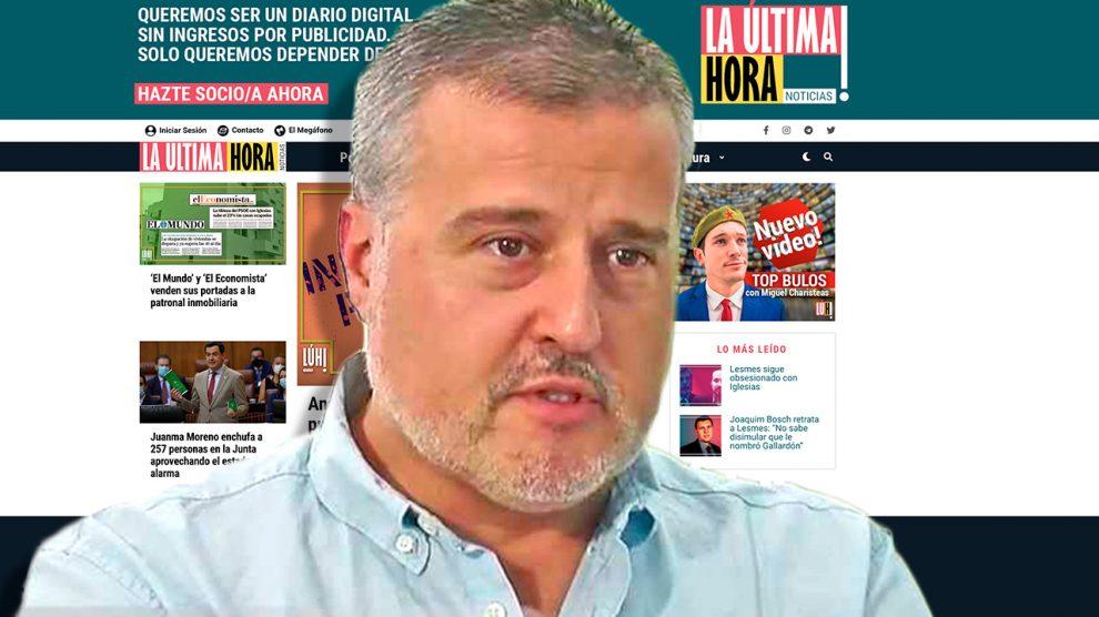 El periodista Joan Cantarero.