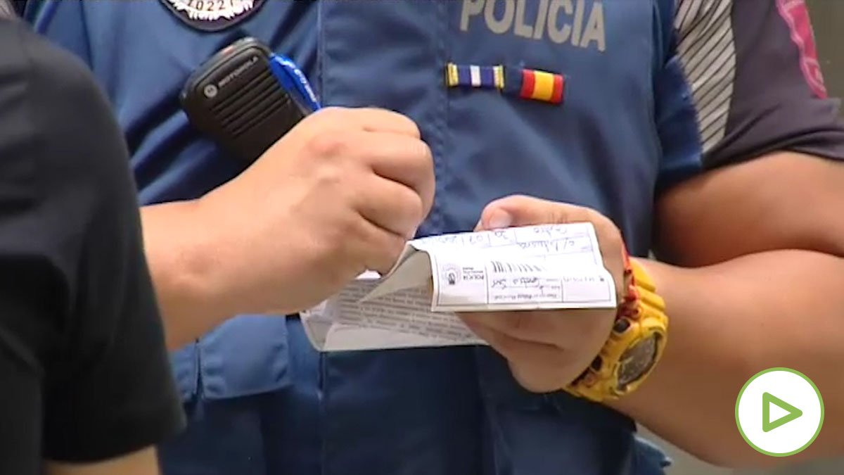 Las multas por no llevar mascarilla llegan a Madrid