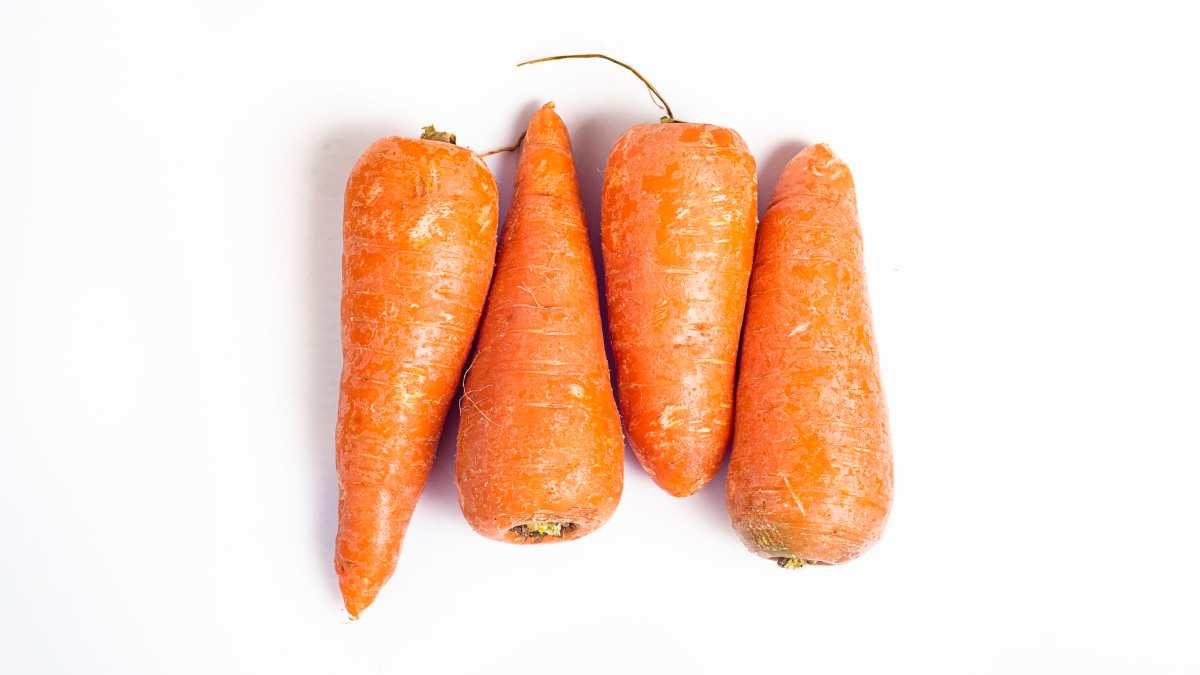 Zanahoria, consumo de piel