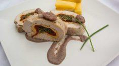 Receta de Pavo relleno con arroz salvaje
