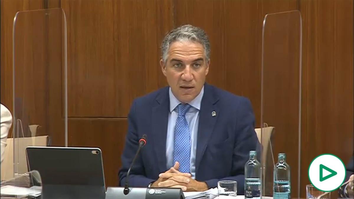 Elías Bendodo (PP) exige explicaciones a Susana Díaz por los 1.500 millones en facturas sin pagar.