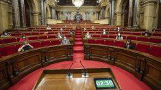 Hemiciclo del Parlamento catalán.