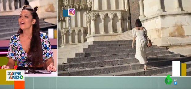 Lorena Castell, protagonista por imitar a Tamara Falcó en este mítico vídeo