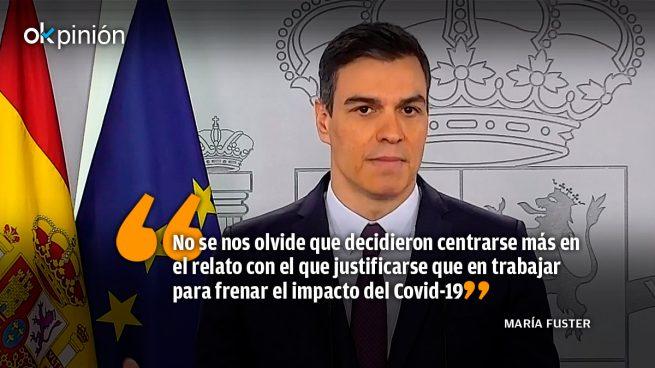 Sánchez y su Gobierno: además de incapaces, mentirosos patológicos