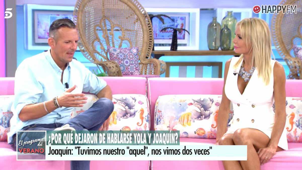 Yola Berrocal y Joaquín Prat