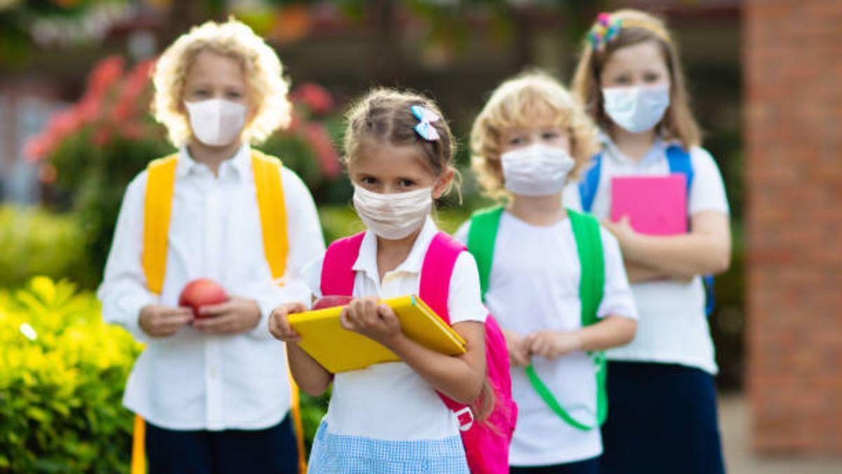 Pautas para evitar que los niños se contagien cuando vuelvan a las escuelas