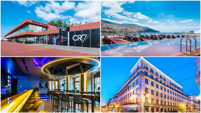 Los hoteles de Cristiano Ronaldo.