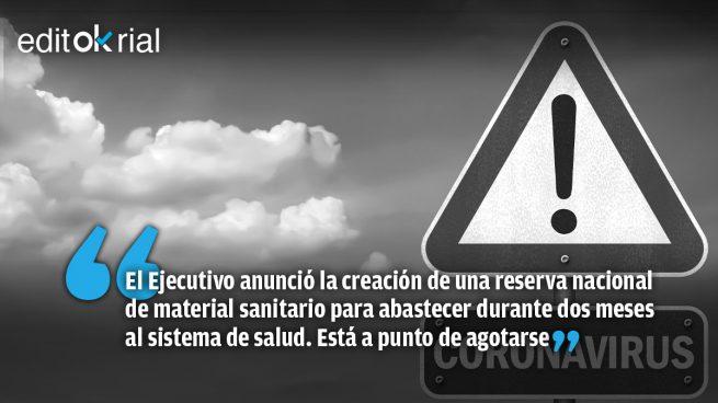 El Gobierno de Sánchez es un peligro para la salud pública