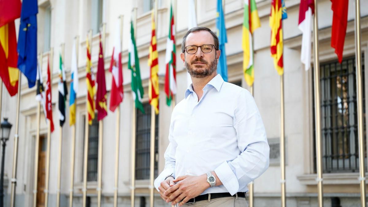 Javier Maroto, portavoz del PP en el Senado.