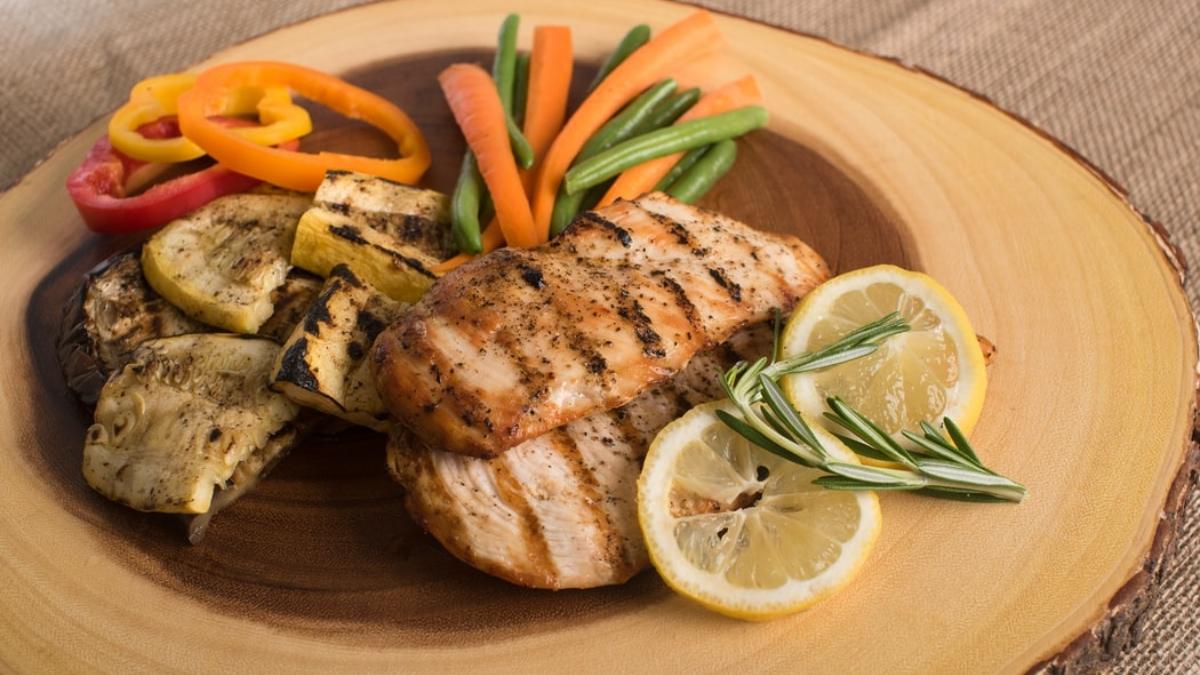 Parrillada de verduras y pollo (1)