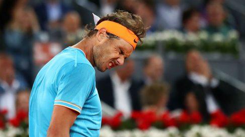 Rafa Nadal, en el Mutua Madrid Open. (Getty)