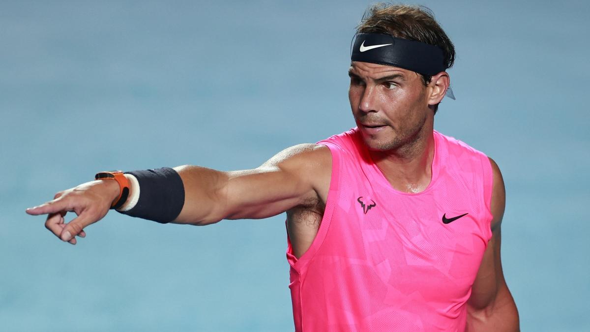 El tenista balear espera el momento de regresar a las pistas