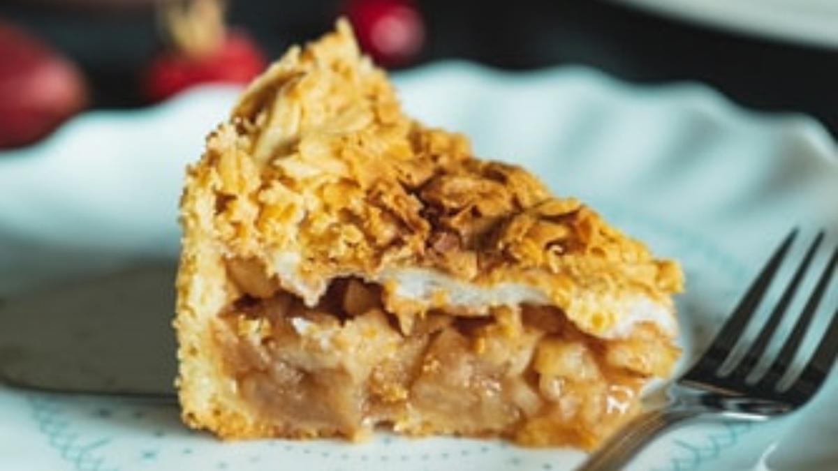 Tarta de pera con almendras vegana (1)