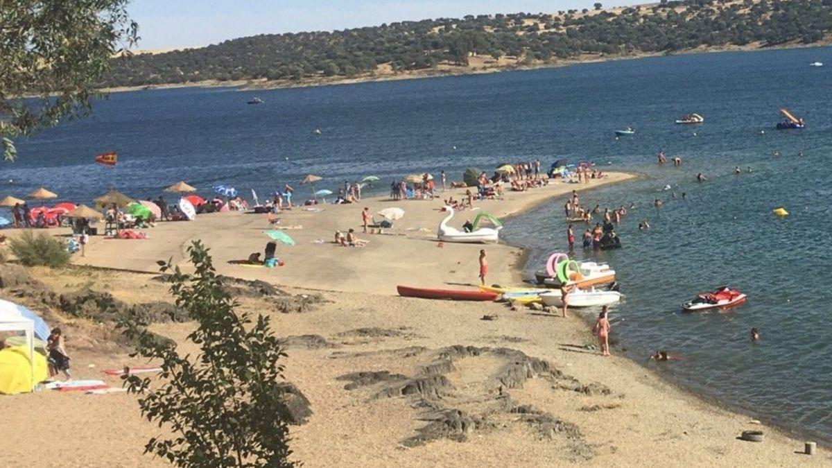 Playa de Orellana, Badajoz