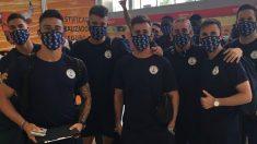 Jugadores del Marino.
