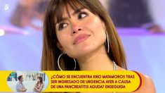 Miriam Saavedra volvió a 'Sálvame'