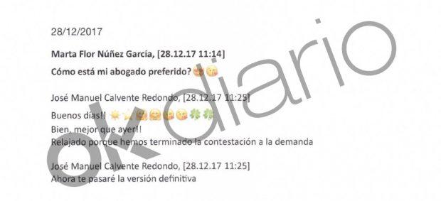 """Marta Flor al letrado: """"¿Cómo está mi abogado preferido?"""""""