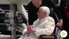 Benedicto XVI: Muy grave por un herpes zóster