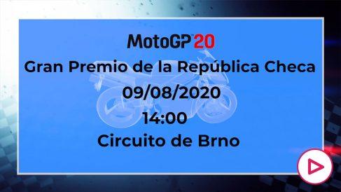 GP de República Checa 2020   Horario y dónde ver por televisión la carrera de MotoGP.