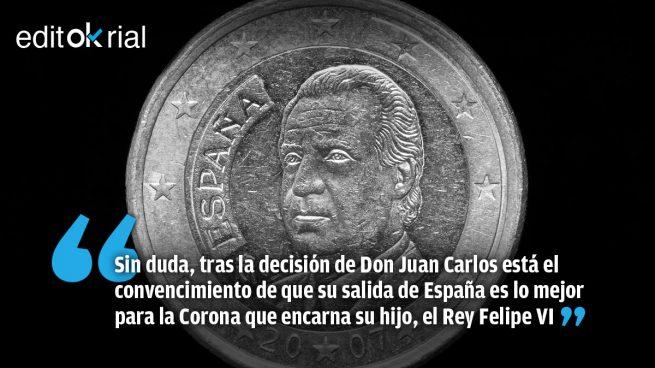 Una decisión que refuerza la autoridad moral de Felipe VI