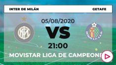 Europa League 2019-2020: Inter – Getafe | Horario del partido de fútbol de Europa League.