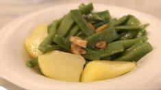 Receta de judías verdes estofadas