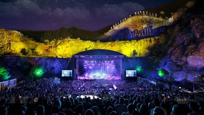 Así queda el cartel del Festival Starlite 2020 en Marbella