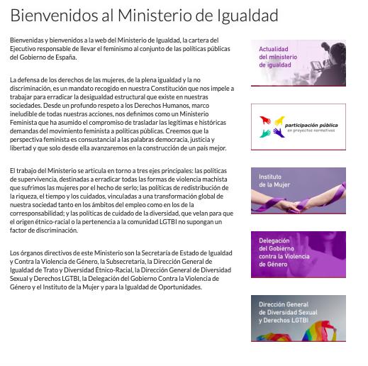 La 'inexistente' dirección general étnico-racial de Montero: ¡No tiene ni página web!