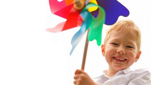 Cómo hacer un molinillo gigante con los niños