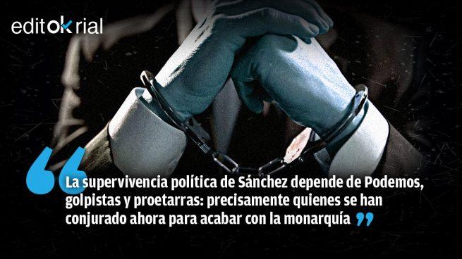 Sánchez está preso de quienes quieren dinamitar el modelo del 78