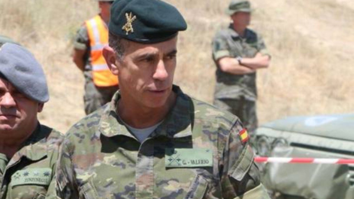El general del Ejército de Tierra Fernando García González-Valerio.