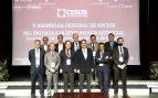 Los eLos empresarios de Andalucía (CESUR) agradecen a Juan Carlos I sus servicios como