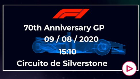 Fórmula 1: Gran Premio 70 aniversario en Silverstone.