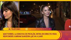 Miriam Saavedra en 'Sálvame'