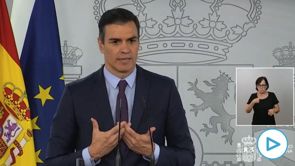 Pedro Sánchez ve «más que razonable» la gestión de su Gobierno con más de 40.000 muertos y la peor caída del PIB.