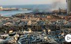 La devastadora explosión en Beirut ya deja más de 100 muertos, 4.000 heridos y decenas de desaparecidos