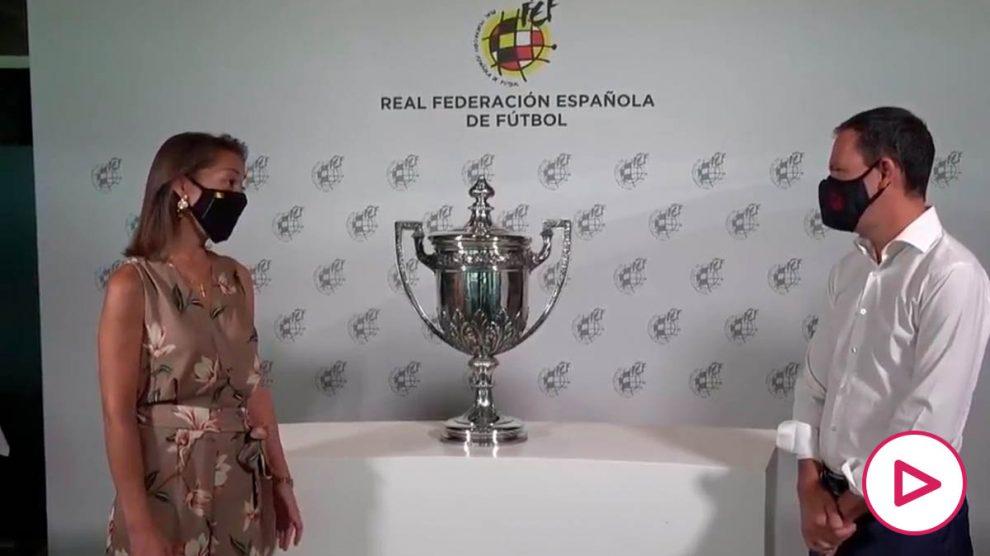 La Federación entrega al Atlético la Copa Presidente 73 años después.